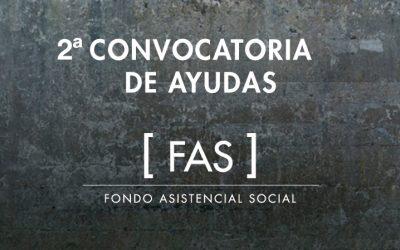 EL COAM CONTINÚA CON EL PROGRAMA DE AYUDAS «FONDO ASISTENCIAL SOCIAL» (FAS_COAM)